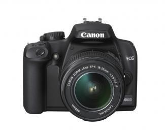 Zrcadlovky Canon CANON EOS 1000D + EF-S 18-55 + 75-300